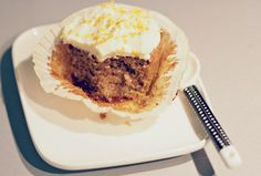 Jauhoton ja gluteeniton porkkanakakku - Spin off Cupcake Cakes, Cupcakes, Muffin, Ice Cream, Sweets, Breakfast, Lily, Desserts, Food