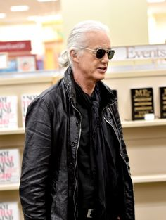 "Jimmy Page Photos: Jimmy Page Book Signing For ""JimmyPage By Jimmy Page"""