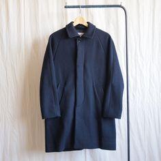 Soutien Collar Coat #navy