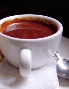 Receita de chocolate quente saudável