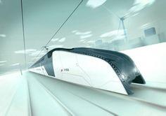 Australian High Speed Vehicle (A-HSV), double-decker train concept  - Hassell Studios