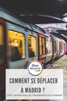 Vous venez pour le weekend à Madrid? vous vous demandez comment fonctionne le métro, bus et train à Madrid ?on vous explique tout.#espagne