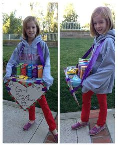 Easily make a Girl Scout cookie carrier out of a Tupperware tray and some duct tape.