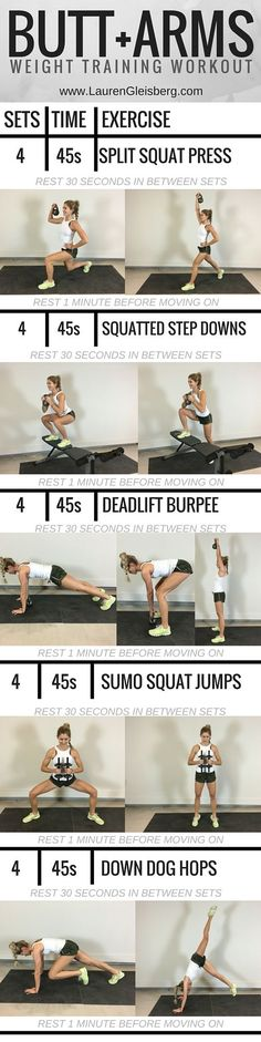 WORKOUT OF THE DAY: SHOULDERS + GLUTES