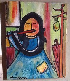 Flute. By Silvia Marron.