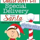 This Classroom Elf Special Delivery from Santa set has everything you need to request a classroom elf from Santa Claus and arrange for a special de...