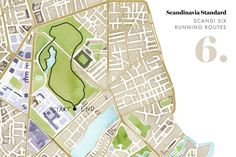 COPENHAGEN RUNNING ROUTES - 6. FÆLLEDPARKEN I've always liked the idea of walking around this park, in the footsteps of Werner Heisenberg and Niels Bohr. The Niels Bohr Institute is just on the park's perimeter and apparently the two physicists would frequently take longs walks together in the park.