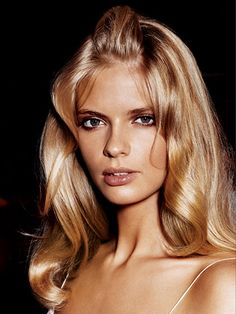 Get glossy hair for prom