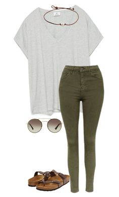 """Almost to 600 yayayyayay!!"" by annakhowton ❤ liked on Polyvore featuring Zara, Topshop, Birkenstock and Prada"