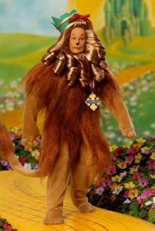 Ken® Doll as the Cowardly Lion™ from The Wizard of Oz™ Pop Culture Dolls - View Collectible Barbie Dolls From Pop Culture Collections   Barbie Collector