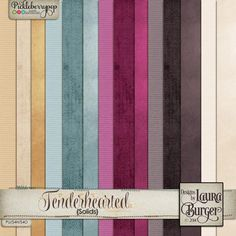 Tenderhearted Solid Paper Set