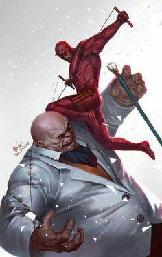 Daredevil vs The Kingpin