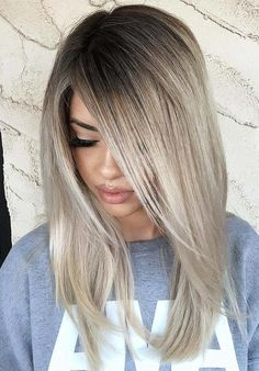 Looking for unique hair color ideas in 2018? Although there are much variations in hair colors to wear but the beautiful ice beige hair color is also one of the amazing hair colors to sport in 2018. Don't search any more for different hair colors, just wear it and enjoy it.