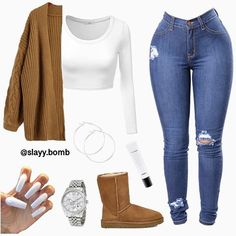 Most current Screen baddie Business Outfit Ideas, Winter Outfits For Teen Girls, Swag Outfits For Girls, Cute Outfits For School, Cute Swag Outfits, Cute Comfy Outfits, Teenage Outfits, Dope Outfits, Teen Fashion Outfits, Girly Outfits