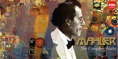 MAHLER - The Complete Works Multi CD box set created for EMI  Designer M Millington