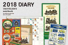 旅するように毎日を過ごすための道具をテーマに、トラベラーズノート及び、ブラスプロダクト、スパイラルリングノートなどの仲間となるプロダクト、及び、直営店舗「トラベラーズファクトリー」を展開しています。 TRAVELER'S COMPANY consists of TRAVELER'S notebook, BRASS PRODUCTS, SPIRAL RING NOTEBOOK and other related products. We also own and run the shop TRAVELER'S FACTORY. All these products share the theme of traveling that takes place in one's daily life.