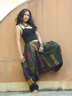 Harem Pants ...Yoga Pants ..Leisure Pants ... Patchwork by Ablaa