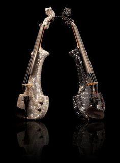 ❤ beaux violons électriques