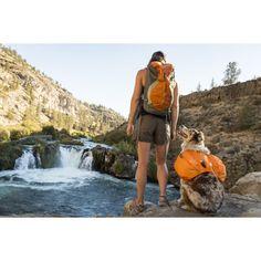 Ruffwear Approach Backpack - in use
