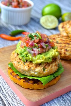 Mexican Chicken Burger | Every Last Bite