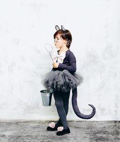 Little mousie costume DIY for Halloween | TypischIch