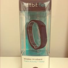 Fitbit Flex Black Nee in box still sealed! Fitbit activity tracker!  Won this item but already have one that I love! Fitbit Other