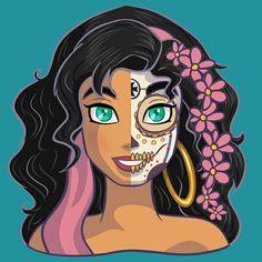 Sugar Skulls - Esmeralda