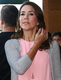 Crown Princess Mary attended the lecture by Stephen W. Hawking