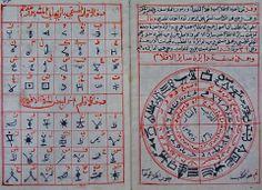 Halu Rumuz al-Arkam fi Kashfi 'Ulum al-Aklam Arabic Occult Manuscript Black Magic Book, Ancient Scripts, Alphabet Symbols, Islamic Phrases, Vintage Lettering, Pen And Paper, Illuminated Manuscript, Alchemy, Alphabet