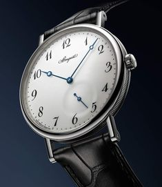 Vintage Watches Collection : Breguet - Classique 7147 - Watches Topia - Watches: Best Lists, Trends & the Latest Styles Best Watches For Men, Cool Watches, Baselworld 2017, Silver Pocket Watch, Custom Design Shoes, Fossil Watches, Watch Brands, Vintage Watches, Luxury Watches
