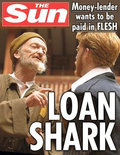 The Merchant Of Venice. | 10 Shakespeare Plays As Sun Front Covers