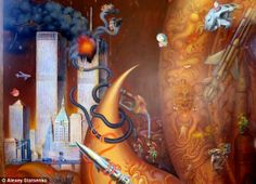 'Totally inappropriate': A mural in the Thai temple of Chiang Rai depicting the 9/11 terrorist attacks