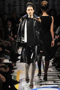 Prada Fall 2010 Ready-to-Wear Fashion Show - Jacquelyn Jablonski