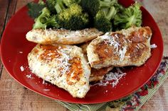 Parmesan- Crusted Chicken | Recipe Girl