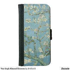 Shop Van Gogh Almond blossom iPhone Wallet Case created by ArtDutch. Theo Van Gogh, Van Gogh Almond Blossom, Iphone 6 Wallet Case, Van Gogh Museum, Vans Shop, Dutch Painters, Vincent Van Gogh, Gifts, Favors