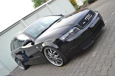 Audi A4 B6 Projekt mit Speziallackierung