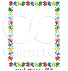 Page 1 of Royalty-Free (RF) stock image gallery featuring Border clipart illustrations and Border cartoons. Page Boarders, Border Design, Book Activities, Vector Graphics, Typography, Clip Art, Templates, Hand Prints, Fonts