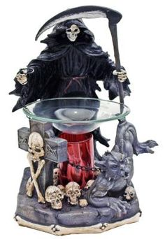 Emerging Grim Reaper Electric Oil Warmer