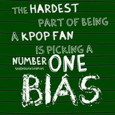 Its impossible to just have one! I dont know others do it but I have an ultimate bias named JongHyun of SHINee!!!