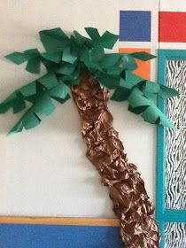 A 2nd Grade Adventure: How to Make a Palm Tree