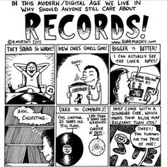 Why should anyone still care about records?