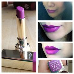 Loreal colouriche in Violet Chiffon Pose. Hmm. Wonder if I can pull this off..