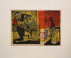 The work of Norwalk printmaker Antonio Frasconi