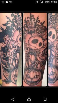 Tattoo univers TIM BURTON