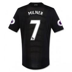 Liverpool 16-17 James Milner 7 Bortatröja Kortärmad  #Fotbollströjor