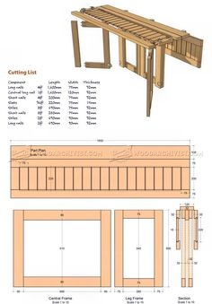 WoodArchivist is a Woodworking resource site which focuses on Woodworking Projects, Plans, Tips, Jigs, Tools Woodworking Plans, Woodworking Projects, Table Plans, Furniture Plans, Home Projects, Small Spaces, Outdoor Living, Dining Table, How To Plan