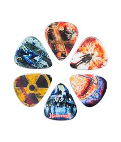 Official Licensed Product - 6 Pack Megadeth Picks Made in Canada.