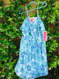 Lilly for Target blue dress