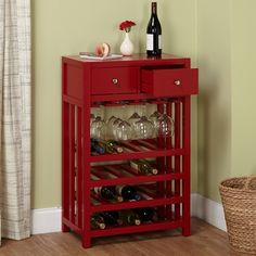 Simple Living Napa Wood 20-bottle Wine Tower - 16481020 - Overstock.com Shopping - Great Deals on Simple Living Wine Racks