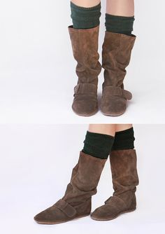 Brown suede boots  Handmade Leather Boots  by TheDrifterLeather